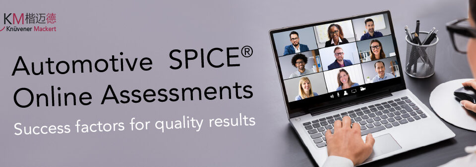 Automotive SPICE Online Assessments - Success factors for quality results